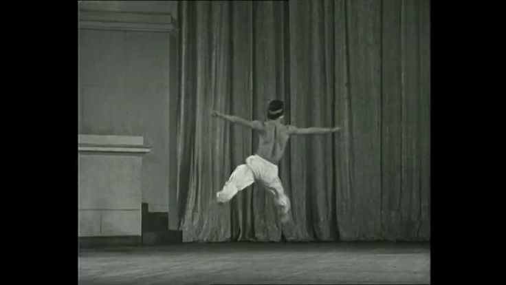 Молодой Рудольф Нуриев Young Rudolf Nuriev Nureуev Kirov ballet