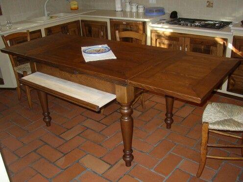 Tavolo romagnolo aperto