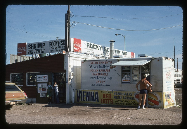 Memories of The Shrimp & Fish Stand at Navy Pier 1973