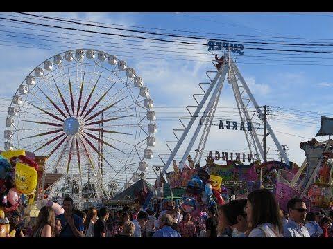 Feria de Sevilla 2015 - Atracciones de feria de día