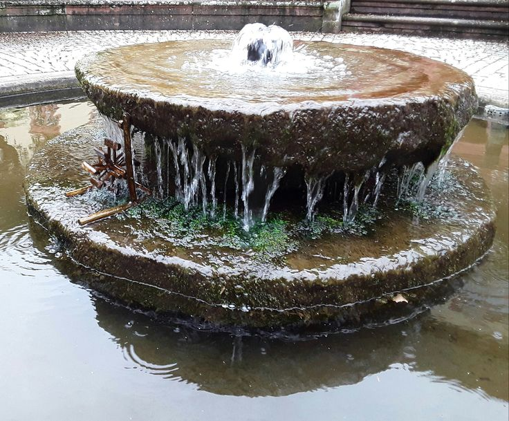 Der Brunnen des Lebens - Wasser! Die Verbindung zwischen Innen und Außen.