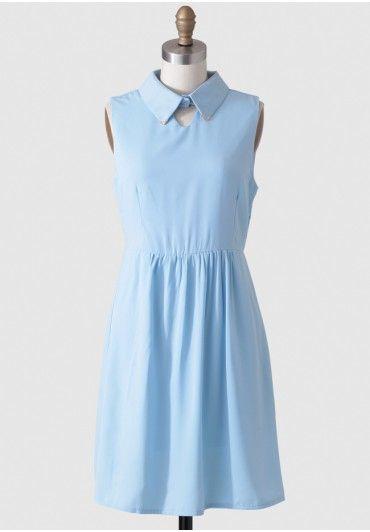 Faenza Dress By Kling   A perfect blue dress.