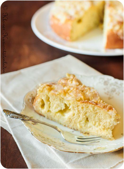 Puddingstreuselschneckenkuchen | Kleiner Kuriositätenladen