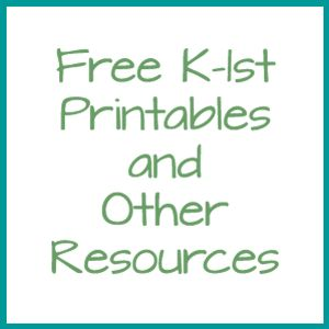 K-1 Free Library Printables, Online Games, and More - Elementary Librarian
