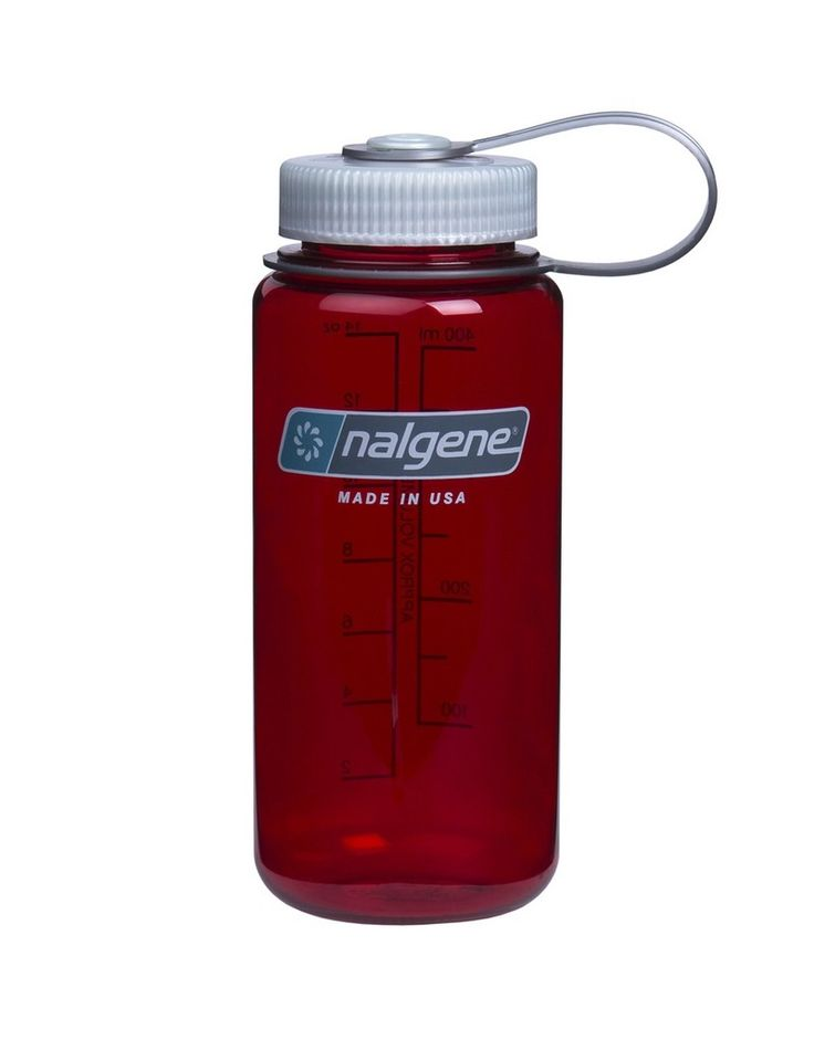 Παγούρι Nalgene Everyday Φαρδύ Διαφανές Κόκκινο 500 ml | www.lightgear.gr