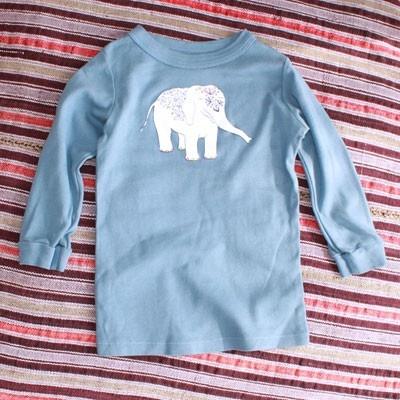 happy elephant organic cotton T-shirt