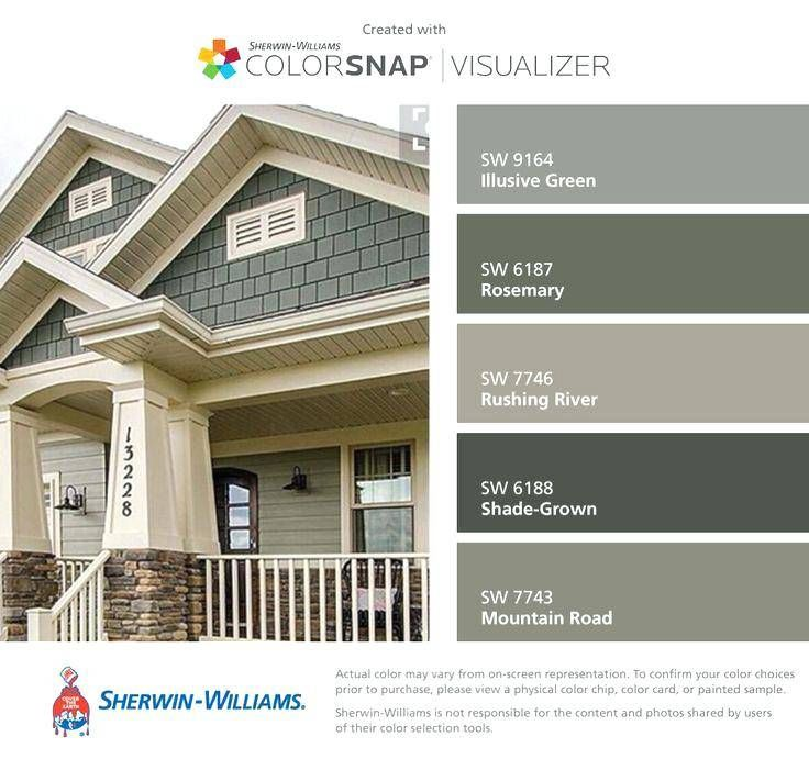Farmhouse Exterior Paint Colors Sherwin Williams Wallpaperall
