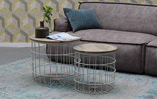 2er Beistelltisch Set Josien Tischset Mango Holz Metall S Https Www Amazon De Dp B076trjb43 Ref Cm Sw R Pi Dp U X Qox4bbaynhqfv Beistelltische Set Tischset