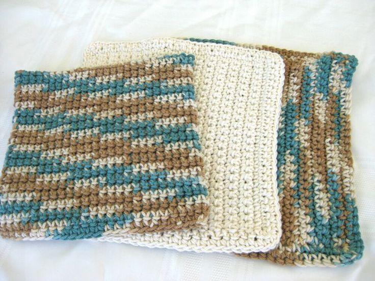 5 Free Crochet Washcloth Patterns
