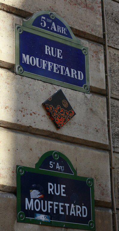 La rue Mouffetard... deux fois  (Paris 5ème)