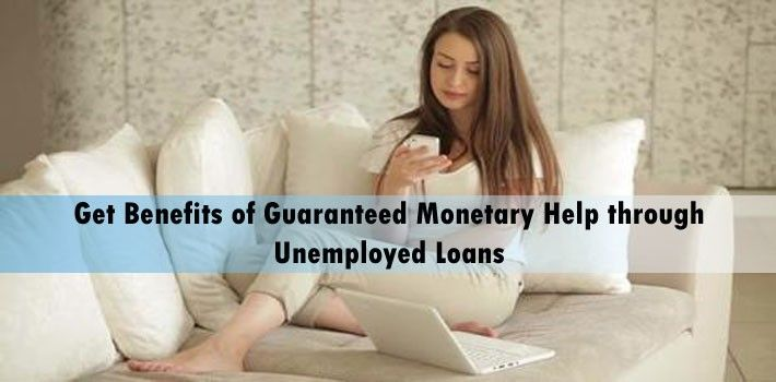 Unemployed loans and guaranteed loans are efficiently provided by reliable credit lender in the UK. To know more, visit:  http://bit.ly/29557aM