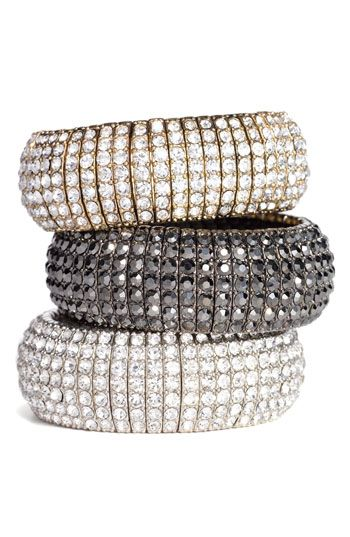 Love these!  $48Tasha Crystals, Stretch Bracelets, Crystals Stretch, Style, Jewelry Bracelets, Bangles, Accessories, Accessorizing, Bling Bling