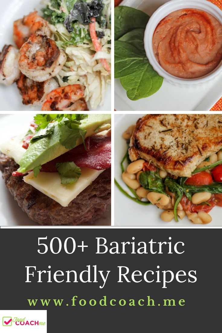 Need recipes to stay on track after weight loss surgery? Get the most out of your surgery AND ...