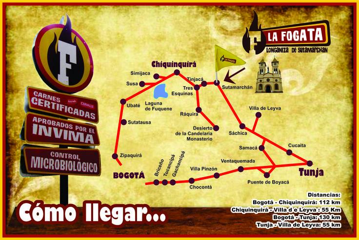 Visite esta bella región y disfrute de la gastronomía boyacense en nuestro restaurante La Fogata