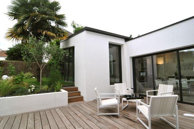 17 meilleures images propos de extension de maison sur for Extension maison 3 ou 4 murs