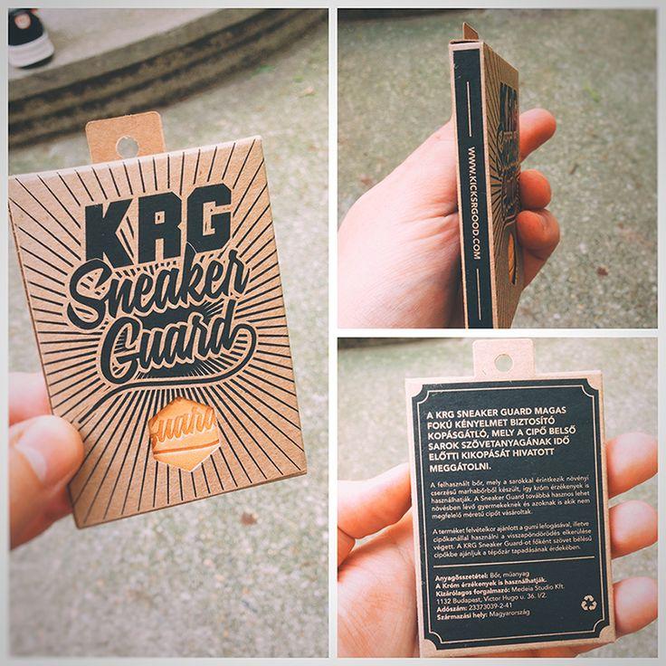 KRG Sneaker Guard packaging design