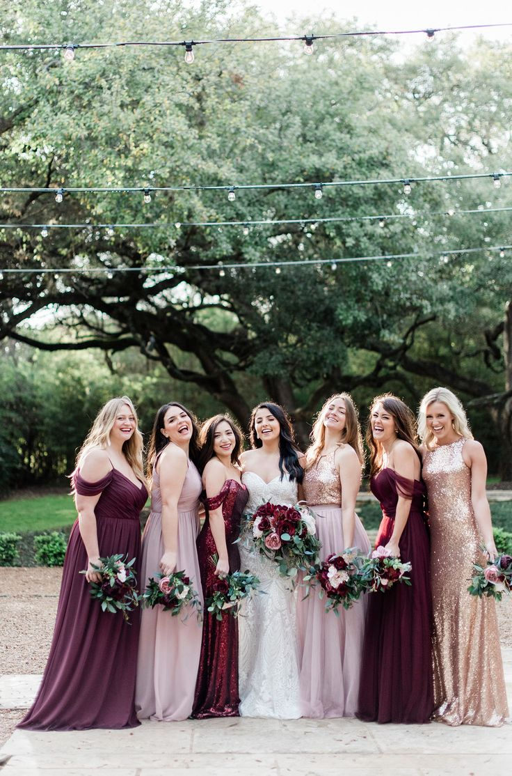 Mix and Match bridesmaid dresses availab…