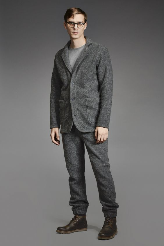 Makia Wool Knit Suit