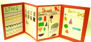 Elements of Art Accordion Book | Lessons from the K-12 Art Room