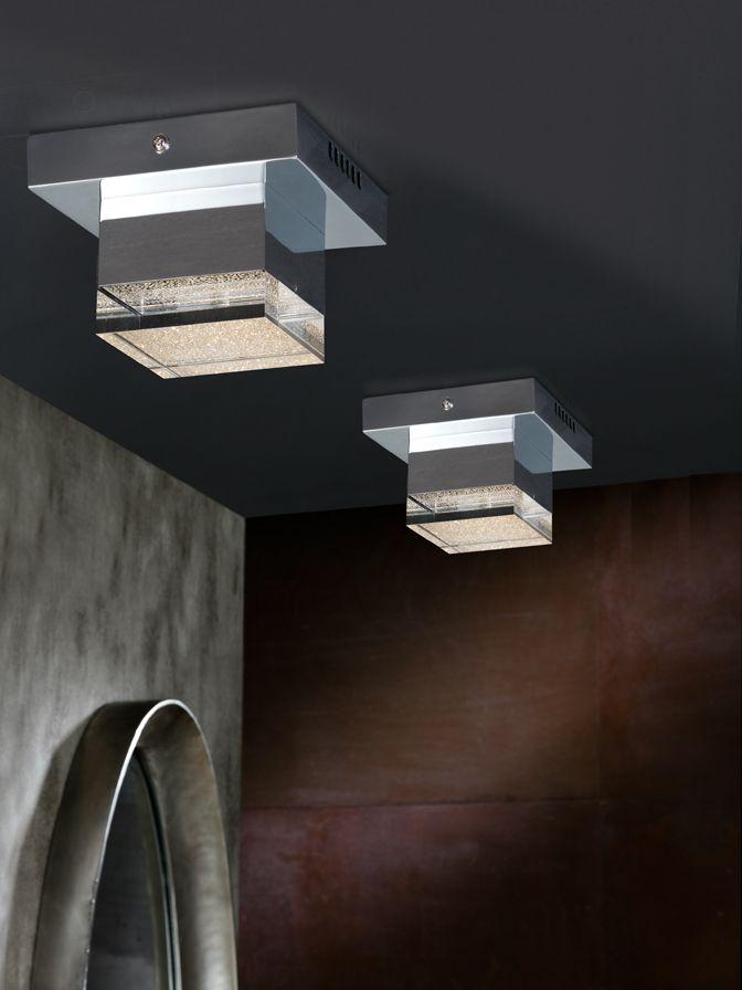 Plafón de techo 1 luz Led 14cm 4W Prisma 475168 de Schuller [475168] - 82,00€ :