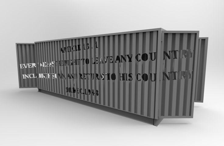 A Roma il progetto Contain[era]: otto container saranno trasformati in gallerie mobili da 8 artisti, in tre diverse location. Da oggi, preso Eutropia (Città dell'Altra Economia), le opere di János Brückner (1-8 settembre) e Dionýz Troskó (9-16 settembre).
