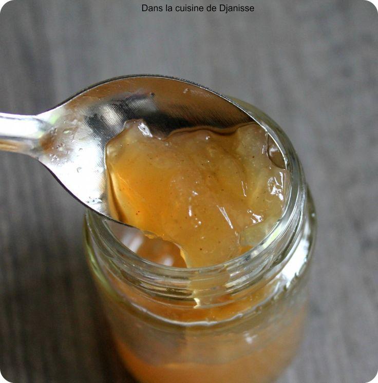 Gelée de poires à l'agar agar