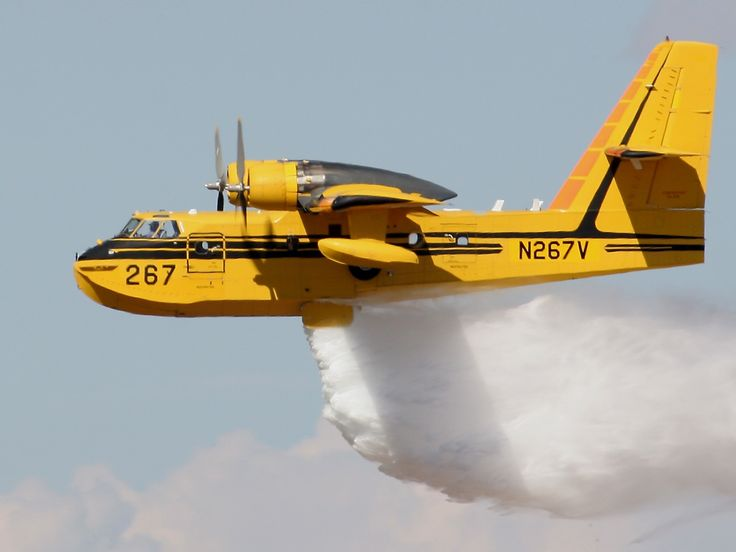 C L 215 Water Bomber