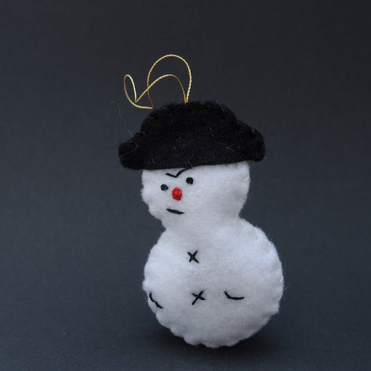 Lord snowman - winter decor, winter, christmas decoration, christmas tree, lovely decoration - by HalloweenOrChristmas on Etsy