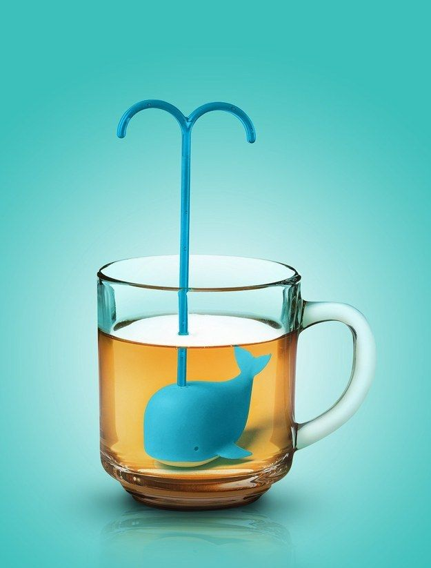 This whale tea infuser.