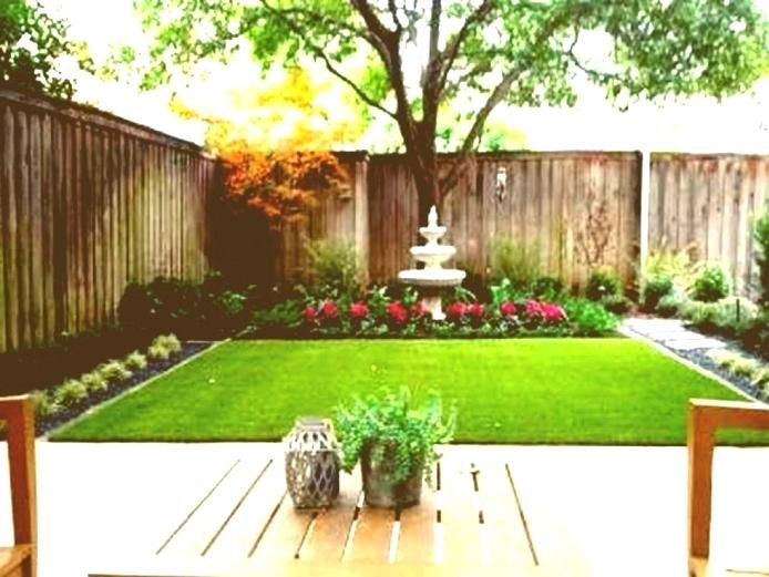 Narrow Backyard Ideas Medium Of Chic Small Backyard Landscaping