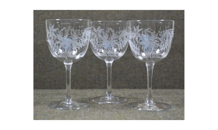 Eight Victorian Wine Glasses by TREASUREETTE on Etsy https://www.etsy.com/ca/listing/494613494/eight-victorian-wine-glasses