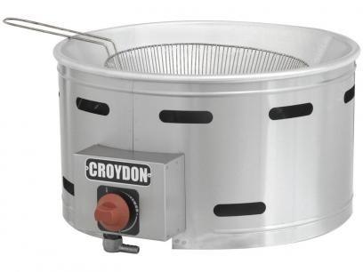 Tacho para Frituras a Gás 7L Inox Croydon TFGC-G - com Controle de Temperatura com as melhores condições você encontra no Magazine Linhatotal. Confira!