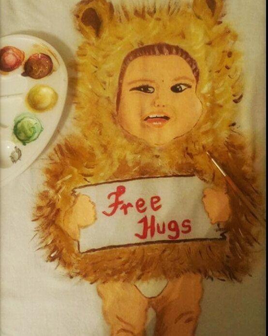 Free Hugs di happyuniquecorn su Etsy