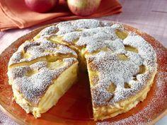 Italienischer Apfelkuchen - Eine feine Variation des Apfelkuchens auf…