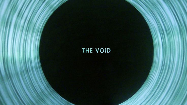"""THE VOID"". Panoramic interactive projection."