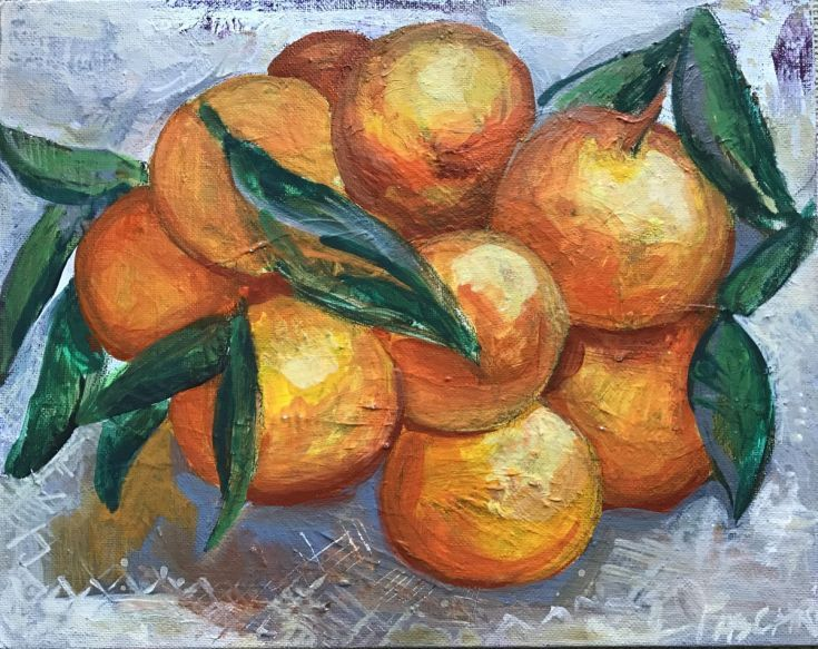 Buy Clementines, Acrylic painting by Olga Pascari on Artfinder. Discover thousands of other original paintings, prints, sculptures and photography from independent artists.