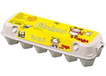 hilarisch eierdans spel Haba   kinderen-shop Kleine Zebra
