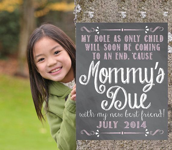 28 best Announcement photo ideas images – Big Sister Birth Announcement