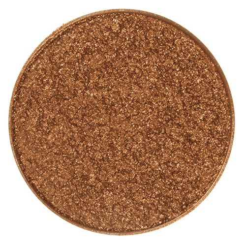 Makeup Geek Foiled Eyeshadow Pan - Grandstand - dupe for MAC amber lights