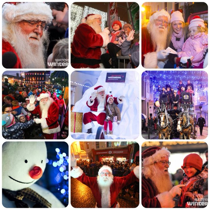 Thank you to everyone who welcomed Santa to #Winterval #Waterford #amazing :) The Fest will be in full swing today :) see www.winterval.ie for our fantastic events schedule