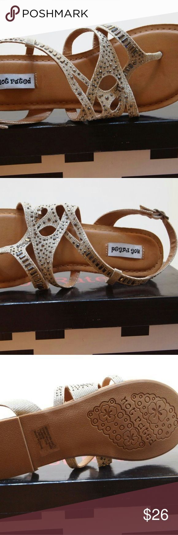 Women's sandals shoes basting nude spring summer New in box. Handling time is 3 to 5 days. Not Rated Shoes Sandals