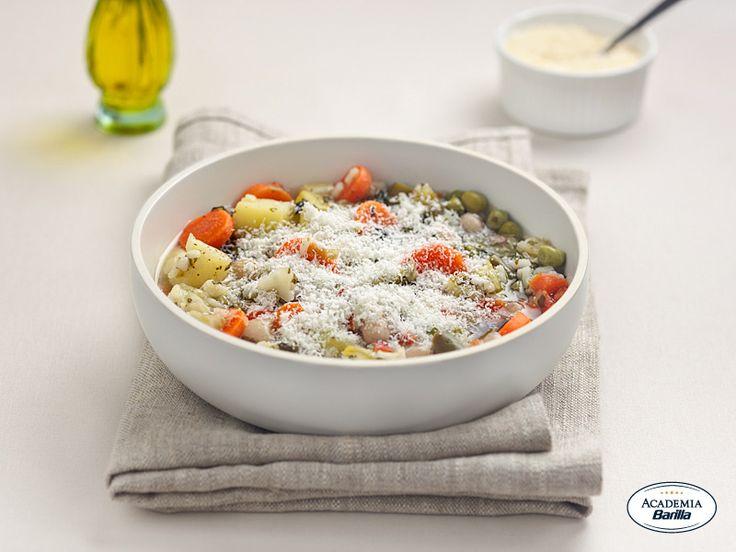 Minestrone di verdure alla milanese