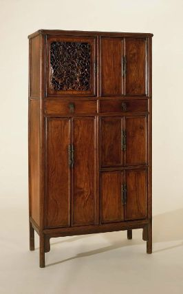 Scholar's cabinet, Chinese, Ming dynasty, late 16th-early 17th century