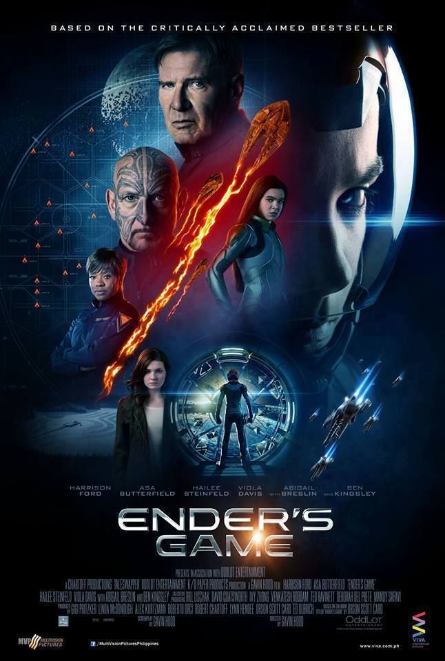 Mwm Madisonwellsmedia As Oddlot Entertainment Summit Entertainment Presents Chartoff Productions Taleswapper K Ender S Game Movie Ender S Game Movie Game