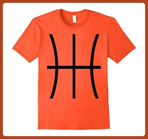 Mens Basketball Costume Jersey Shirt A Basketball Graphic Tee  XL Orange - Sports shirts (*Partner-Link)