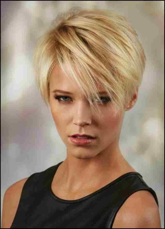 Haarschnitt 2019 Damen Luxury Ideen Blonde Kurzhaarfrisuren