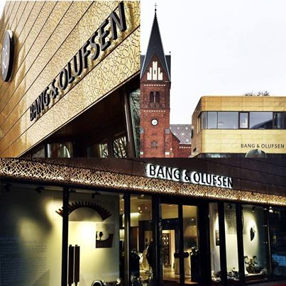 Introducing the brand new Bang and Olufsen store in Herning, Denmark.