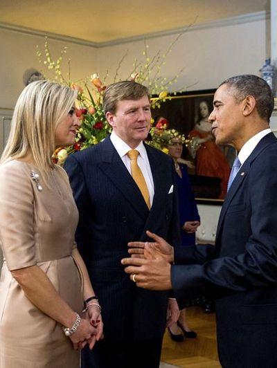 King Willem-Alexander ~ Queen Maxima ~ President Obama