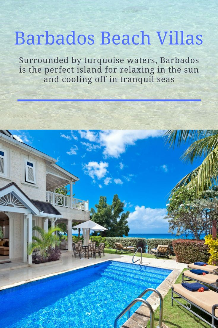 Surrounded by turquoise waters, Barbados is the perfect island for relaxing in the sun and cooling off in tranquil seas
