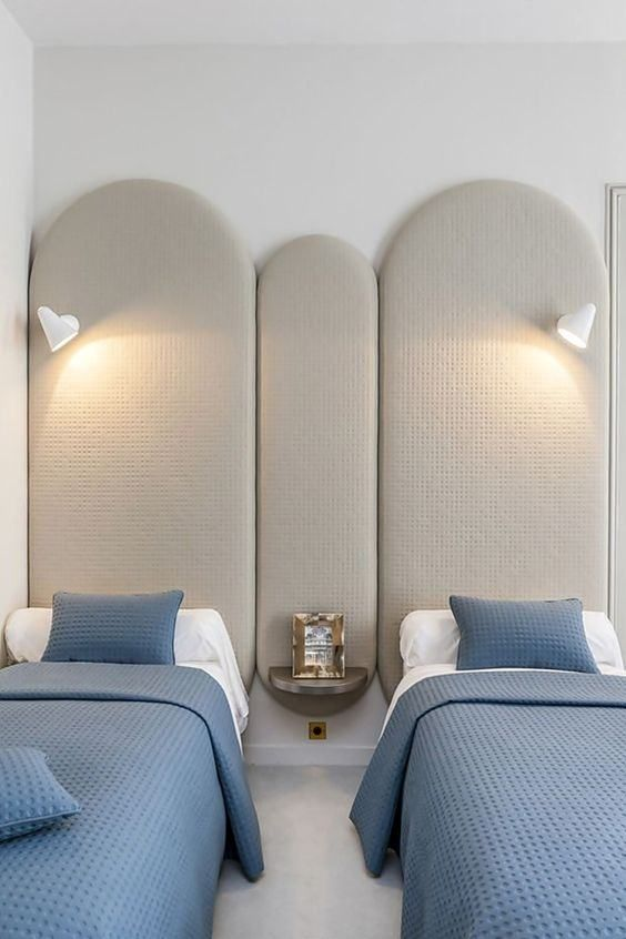 Veja nossa seleção com mais de 60 inspirações de cabeceiras de cama estofadas - Modelos e fotos.